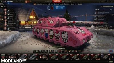MAUS Hello kitty make by tankzorspro 1.6.6 [1.2.0], 1 photo